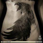 Skull Raven Tattoo
