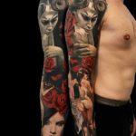 Succubus Tattoo Sleeve