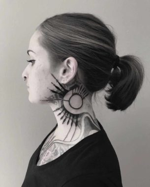 Tattoo for Neck
