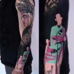 Ukrainian Tattoo Sleeve