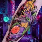Unit 01 Tattoo