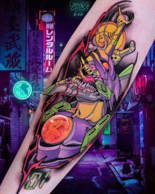 Unit 01 Tattoo