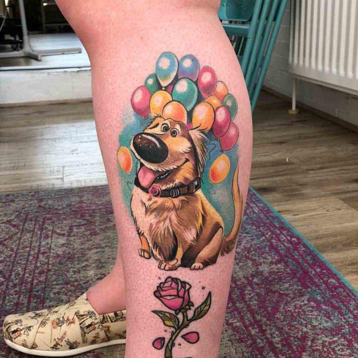 dug tattoo dog