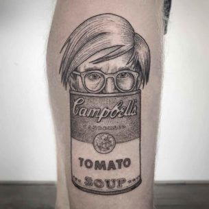 Andy Warhol Tattoo