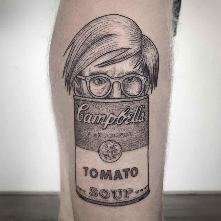 tattoo andy warhol