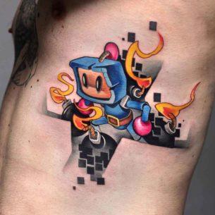 Bomberman Tattoo