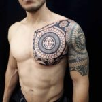 Chest Tattoo Maori