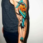 Crazy Motmot Tattoo