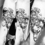 Dead Astronaut Tattoo