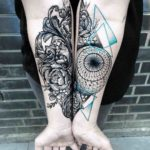 Geometry Tattoo Baroque