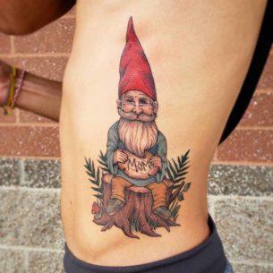 Mom Gnome Tattoo