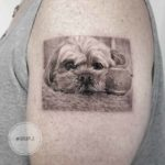 Sad Dog Tattoo