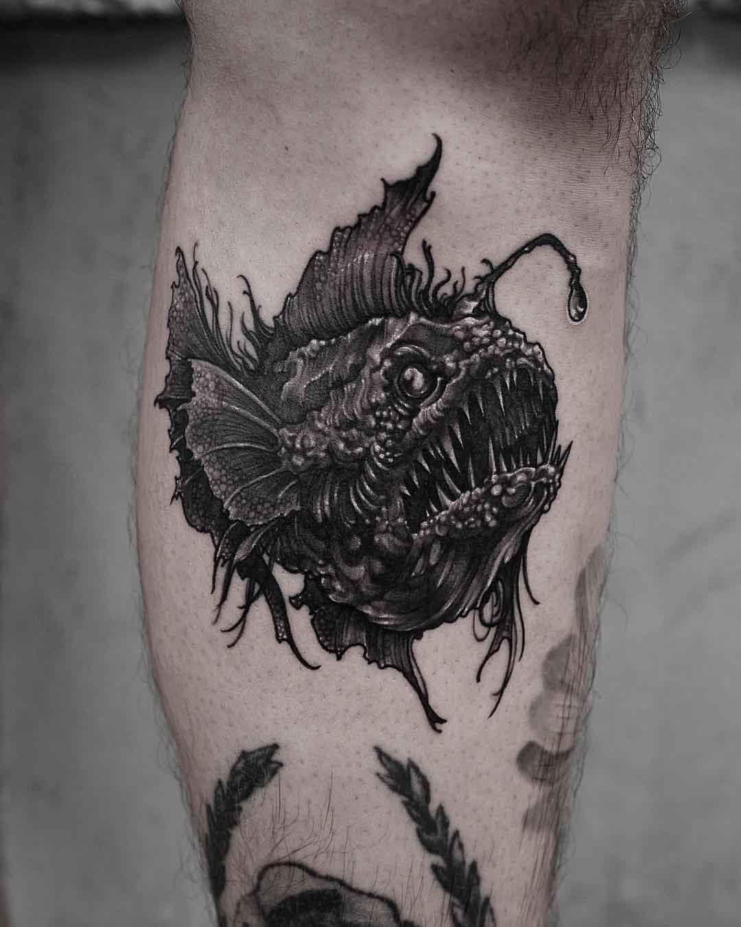 fish devil tattoo
