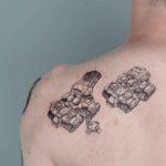 Siege Tank Tattoo