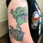 Slimer Tattoo
