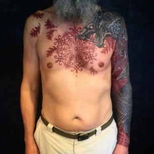 The Mantle of Gangrad Tattoo