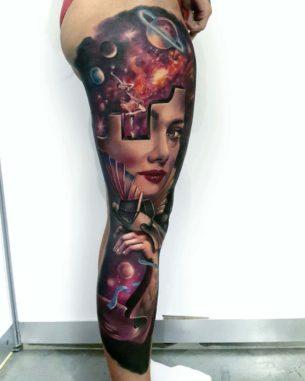 e8a3c677b Leg Sleeves Tattoo · Audrey Hepburn Tattoo