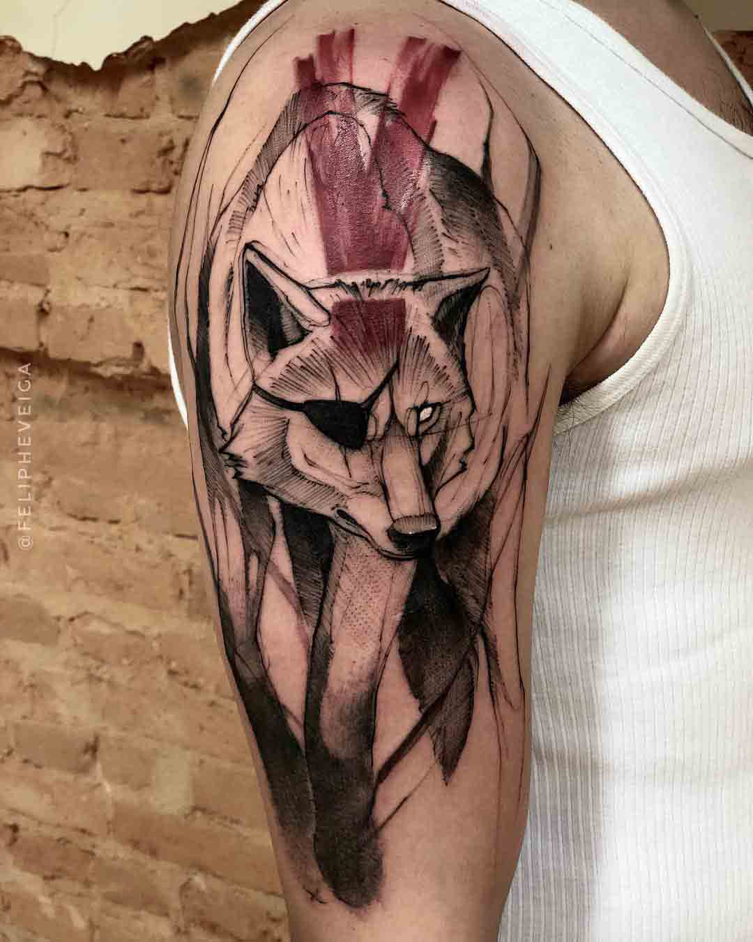 metal grear solid 5 tattoo d-dog