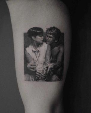 Ghost Movie Tattoo