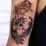 Harry Potter Tattoo Lion