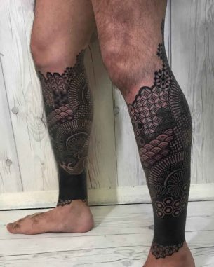 Leg Ornamental Sleeve