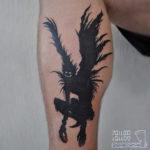 Ryuk Death Note Tattoo