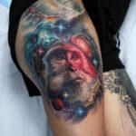 Space Monkey Tattoo