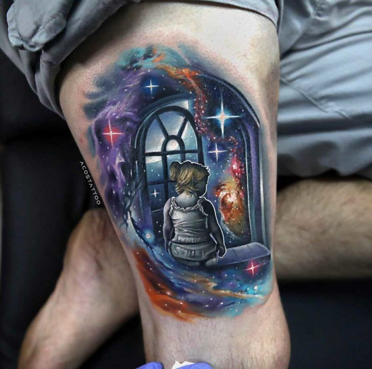 Space Window Tattoo Best Tattoo Ideas Gallery