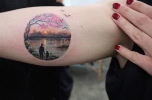 Sunset Tattoo