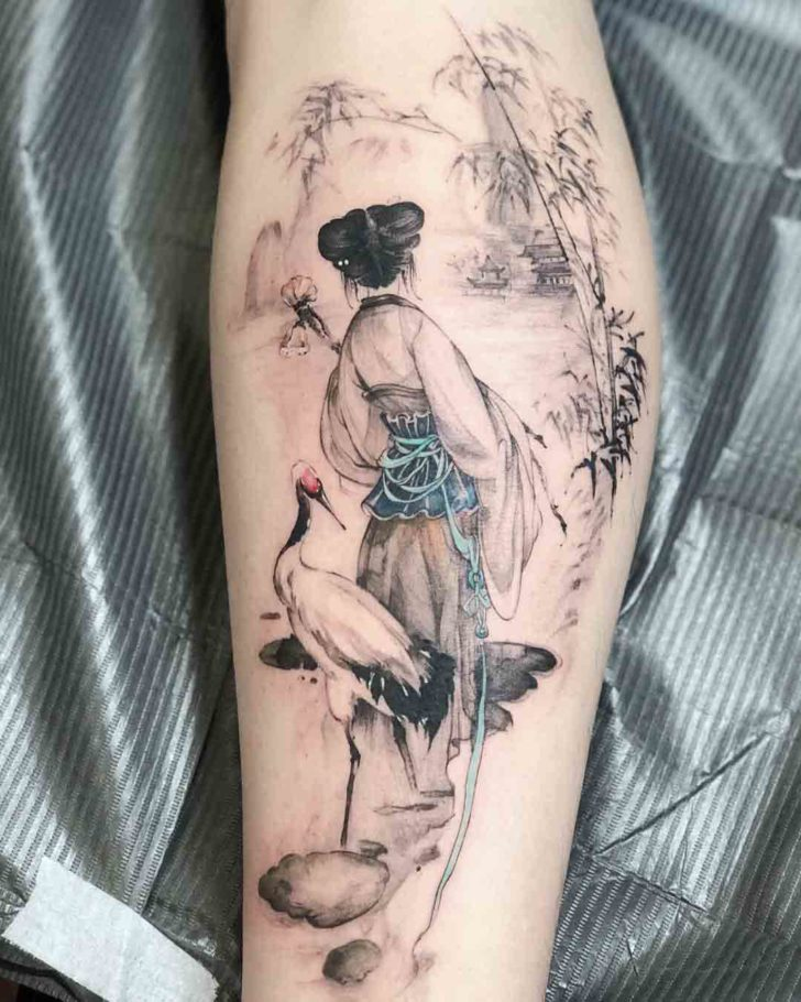 Chinese Traditional Tattoo