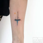 Arm Tattoo Ship
