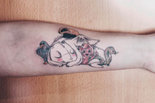Cosy Animals Tattoo