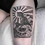 Godzilla Tattoo Oriental