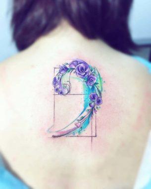 Golden Spiral Tattoo
