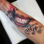Joker Smile Tattoo