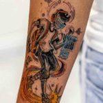 Music Technology Passion Tattoo