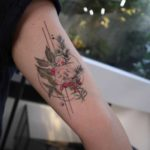 Red Berries Tattoo