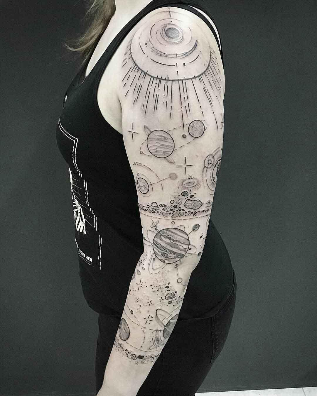 tattoo sleeve space