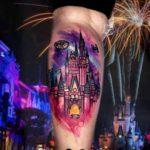 Star Wars Castle Tattoo