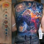 Universe Cover Up Tattoo