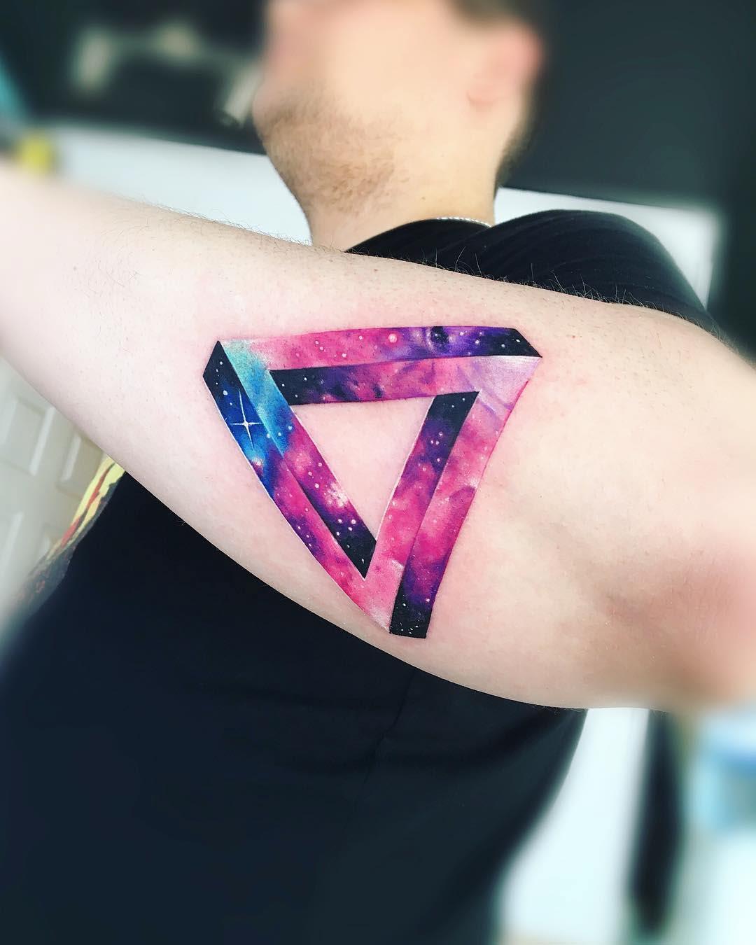 forearm penrose tattoo
