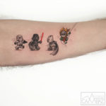 Lego Figures Tattoo