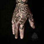 Nordic Hand Tattoo