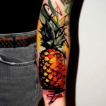 Pineapple Tattoo