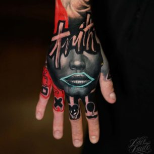 Truth Tattoo on Hand