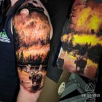 Forest Fire Tattoo