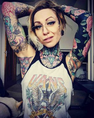 Sleeve and Armpit Tattoo